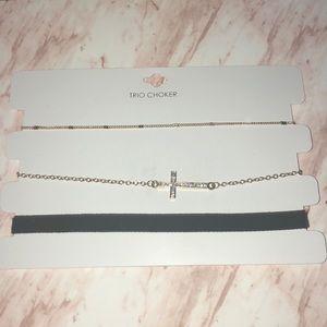 Jewelry - Trio choker set